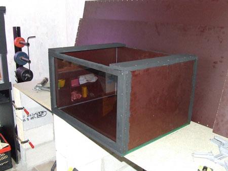 Un bac malawi de 1200 litres en bois eau douce for Petit bac a poisson